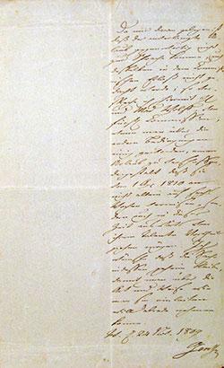 Goethe an Wolff